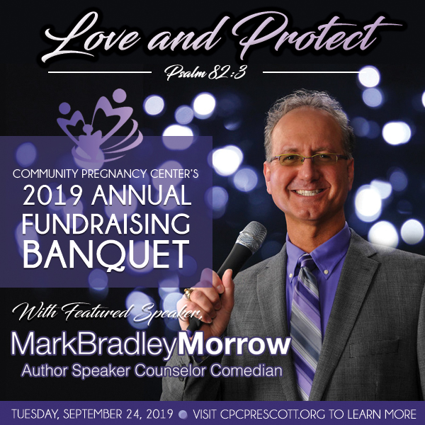 2019 Annual Fundraising Banquet with Mark Bradley Morrow
